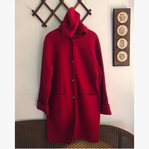 Long Wool Pea Coat